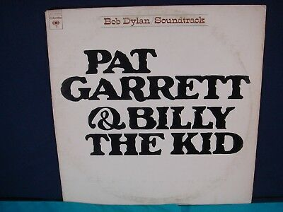 BOB DYLAN LP Soundtrack  Pat Garrett and Billy The Kid 1973
