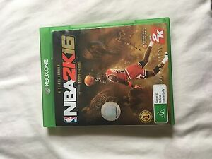 NBA2k16 for Xbox One Mudjimba Maroochydore Area Preview