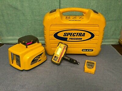 Spectra Precision Gl412 Self-leveling Rotary Laser Level With Rc402 Hl700