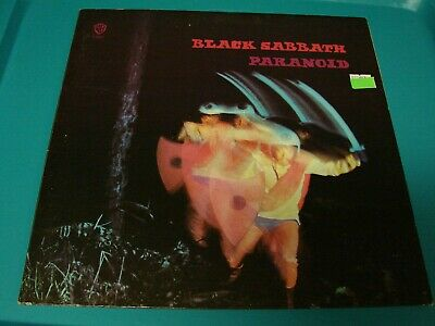 Black sabbath paranoid vinyl record LP warner bros stereo original vintage 1970