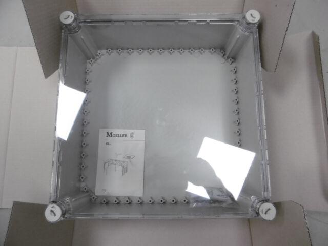 Eaton Moeller Isolierstoff-Einzelgehäuse 375x375 mm CI44E-125  NEU OVP