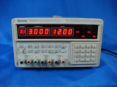 Tektronix Ps2521g Programmable Dc Power Supply Triple Output 20v2.5a 6v5a