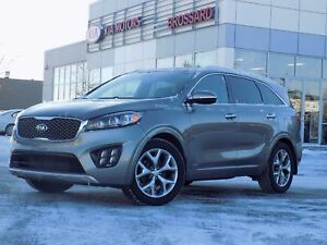 2017 Kia Sorento SX V6 AWD 7 PLACES CUIR NAVIGATION