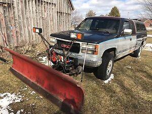 1994 GMC Sierra 2500 4x4 plow truck for sale
