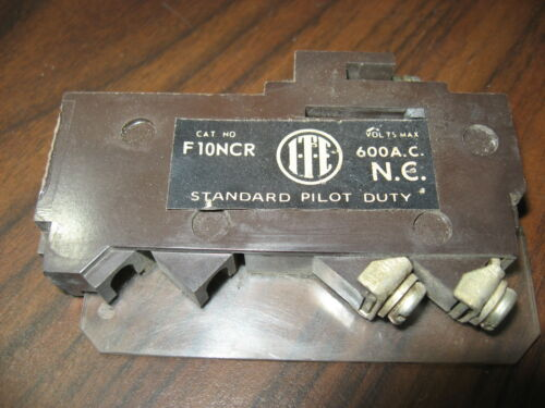 ITE F10NCR Auxiliary Contact (600 Volt)