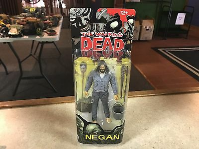 2016 Mcfarlane The Walking Dead Comic Book Series 5 Action Figure Moc   Negan