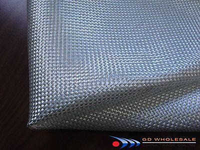 "E fiberglass plain weave cloth 6.0ozx50""wide by 6yards (18 feet) long folded"