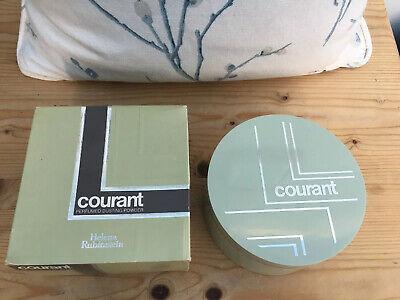 Vintage Helena Rubinstein Courant Perfumed Dusting Powder  Box not sealed 200 gr