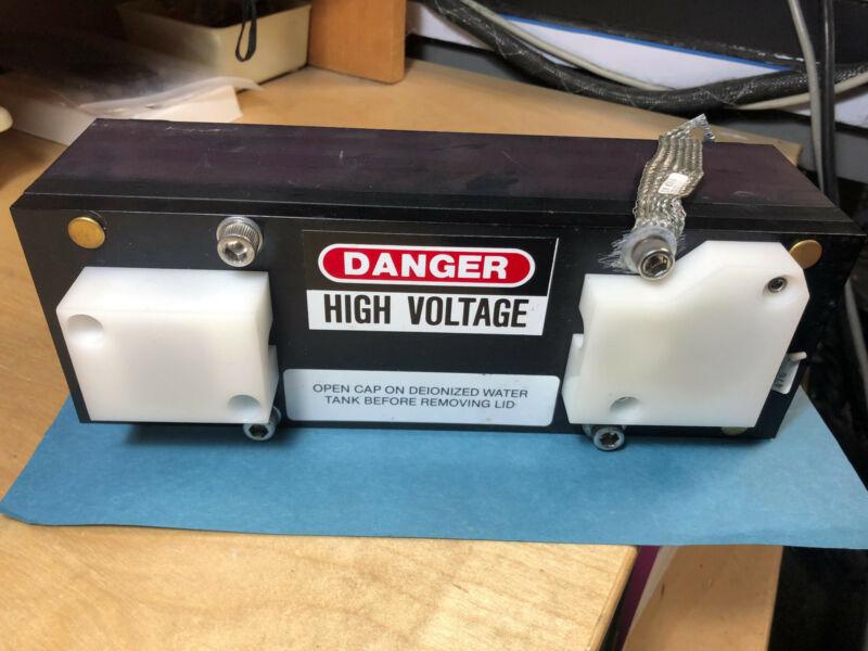 Laserscope Lamp Pumped Nd:YAG Laser Cavity 79x4mm Rod w/Lamp, Gold Reflectors