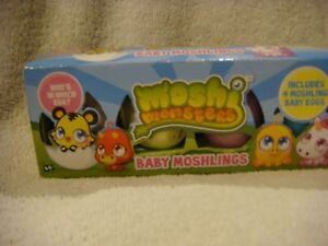 Moshi Monsters baby moshlings pack of 4 eggs
