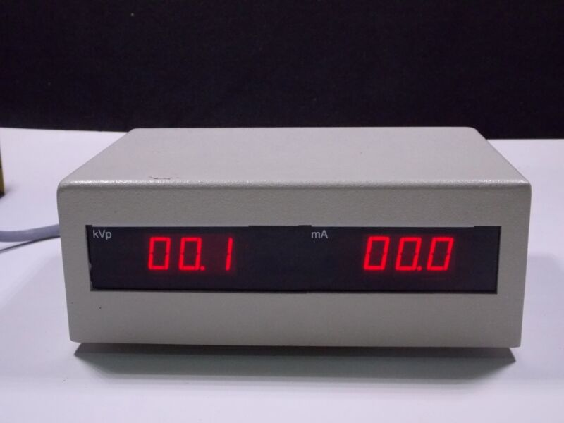 Twin LED 3-digit Displays in an Aluminum Case