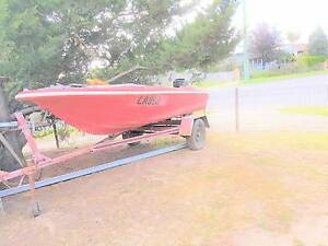 BOAT, MOTOR AND TRAILER Melton South Melton Area Preview