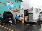 BBQ Smoker Concession Trailer
