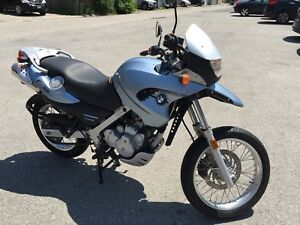 2001 BMW F650 GS. Only 1550 Kms