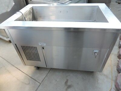 Cold Food Table Cart Randell Model- Ran Sca-3 Stainless Steel