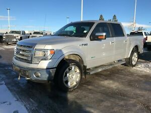 2014 Ford F-150 Lariat | 3.5L | Leather | Sunroof | DVD