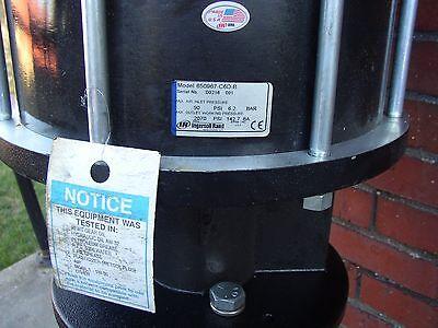 Ir Aro Pump Pneumatic 2-ball Vertical Piston Pump 231 Model 650967-c6d-b