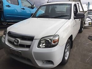 2007 Mazda BT50 TURBO DIESEL MANUAL WHITE UTE READY FOR WORK Lansvale Liverpool Area Preview