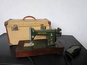 C38064 Antique GRITZNER DURLACH VG German Sewing Machine Mount Barker Mount Barker Area Preview