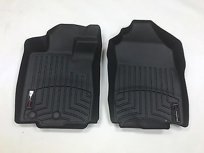 Weathertech Floor Mats Floorliner   2011 2012   Ford Fusion With Awd   Black