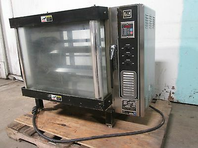 Bki - Dr34 Hd Commercial Counter Top 3ph Electric Ribchicken Rotisserie Oven