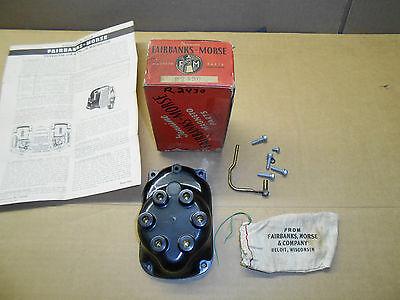 New Vintage Fairbanks-morse Magneto Distributor Cap Cover R2430a