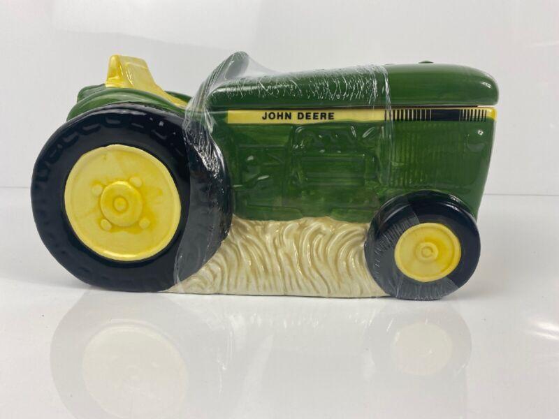 John Deere 10.5 in Tractor Figural Cookie Jar