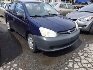 2004 Toyota echo sedan