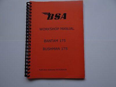 Bushman 175 and Bantam 175 Workshop Manual