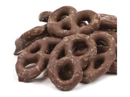 Dark Chocolate Covered Pretzel 0.5-5 LB Free Shipping