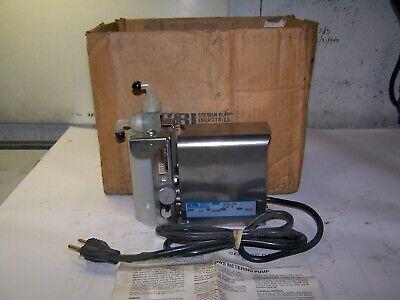 New Gorman-rupp Industries Gri 115v Standard Bellows Metering Pump 14250-005