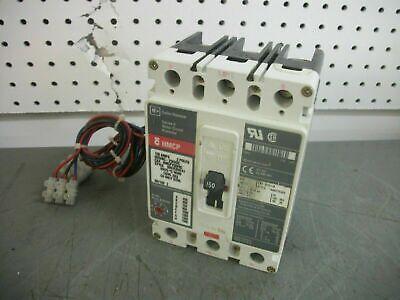 Cutler-hammer Hmcp Circuit Breaker Hmcp150t4c 150amp 600volt 3pole Waux