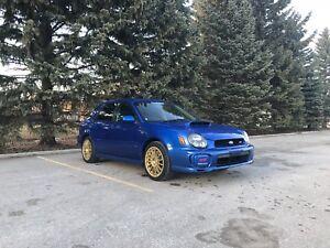 2001 Subaru Impreza WRX STI, JDM, RHD