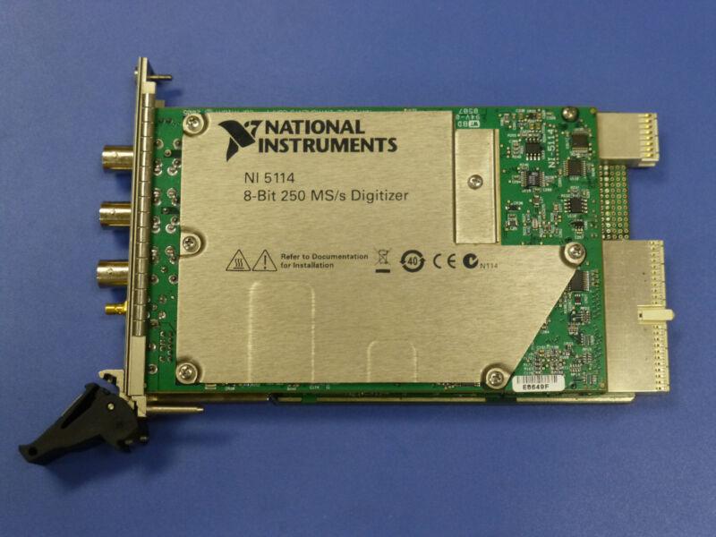 National Instruments PXI-5114 Digitizer Card, NI DAQ Scope, 250MS/sec