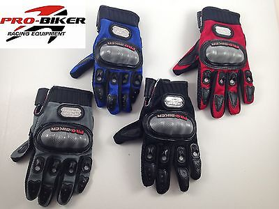 - Pro Biker Motorcycle Armored Riding Gloves Honda Suzki Yamaha Kawasaki Ducati