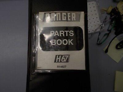 Allied Systems Ranger H67 Log Skidder Parts Book Manual