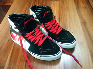 Vans Sk8 Hi Metallica (Kill 'Em All) Southbank Melbourne City Preview