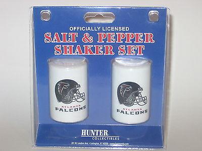 Atlanta Falcons Ceramic Salt & Pepper Shaker Set With Team Logo Logo Shaker Set