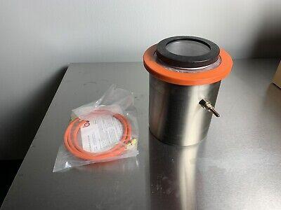 1.5 Gallon Cold Trap 2qt Tank Dry Ice Liquid Nitrogen