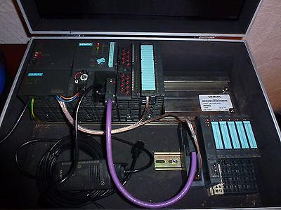 Siemens Simatic S7-300 + ET200 Schulungskoffe, Adapter, Unterlagen + Software