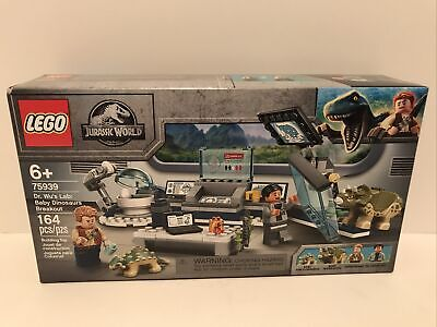 LEGO Jurassic World 75939 Dr. Wu's Lab: Baby Dinosaurs Breakout NEW + Ships Free