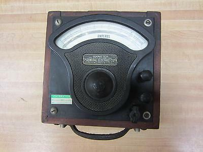 General Electric 356578 Antique Amp Meter Vintage Industrial 39040
