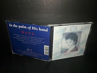 IN THE PALM OF HIS HAND DANA CD - A342 - In The Palm Of His Hand