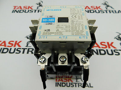 Mitsubishi Magnetic Contactor Sd-n95 14.3s