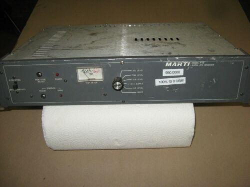 MARTI R-10 STL RECEIVER ON 950.0000 MHz