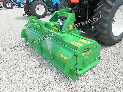 Rotary Tiller 73 Valentini H1800 Tractor 3-pt Pto Qh Compat Hd 100hp Gbox
