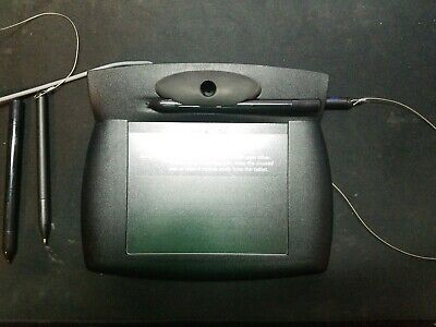 Topaz T-w761-bx10p Standard Signature Pad With Serial Port Really Good Condition