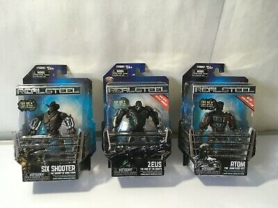REAL STEEL ZEUS, ATOM , SIX SHOOTER , NEW , NEEDS BATTERIES , SALE, SAVE MONEY - Atom Real Steel