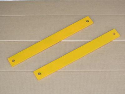2 Frame To Snow Blade Plow Thrust Bars For Ih International 185 Cub Lo-boy
