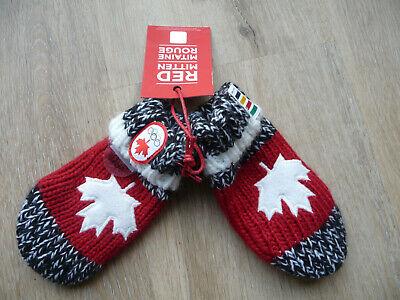 Handschuhe Fäustlinge Baby Kleinkinder Canada Olympische Spiele - Weiße Handschuhe Kleinkind